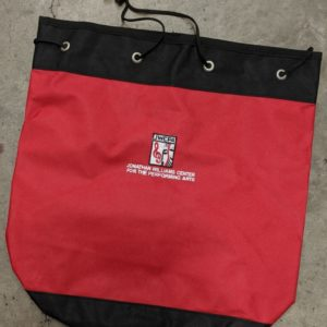 Heavy Duty JWCPA Red Canvas Bag with Drawstring